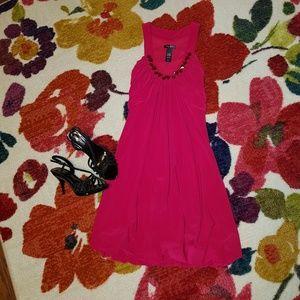 Bisou Bisou Pink Bubble Dress
